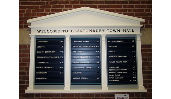 Directory for Glastonbury, CT town hall