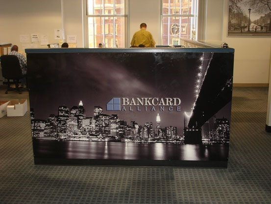 Bankcard Alliance wall graphic in Newington, CT