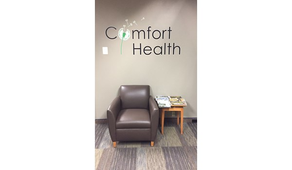 Vinyl Wall Graphics for Comfort Health in Bloomington MN