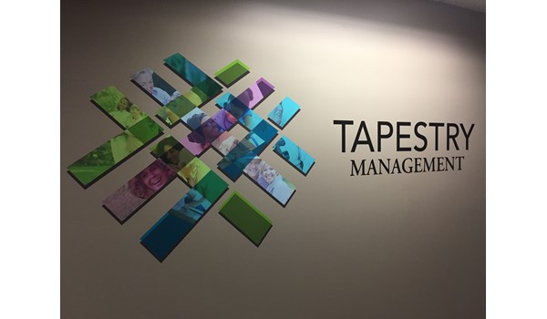Vinyl Wall Graphics, Business Name and Logo