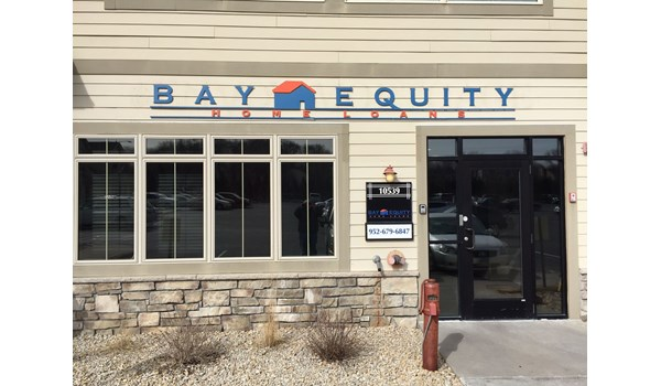 Dimensional Letters, Logo Graphics on building front