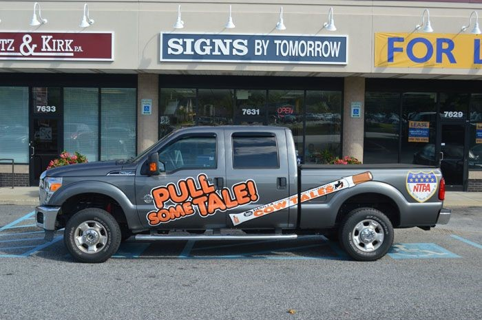 Partial Vehicle Wrap for Goetze Candy in Baltimore, MD