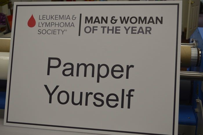 Event Sign for Leukemia & Lymphoma Society of Maryland