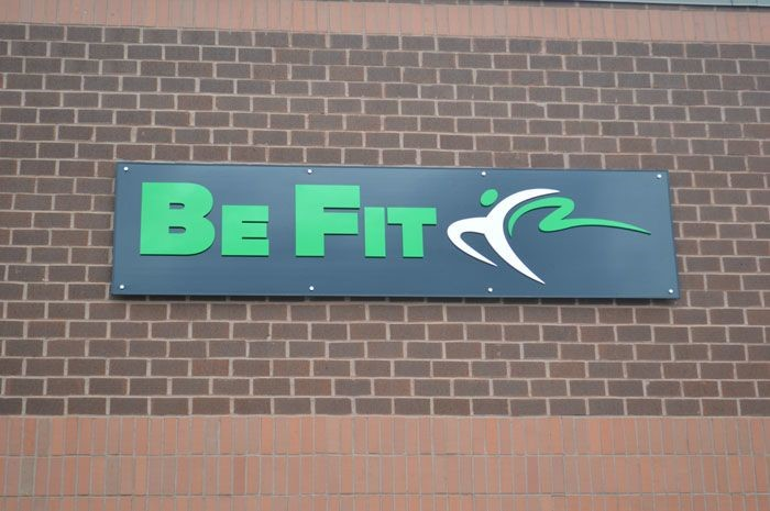 Building Sign for Be Fit Fitness Center in White Marsh, MD