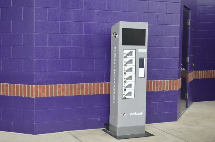 Full Wrap Service of Charging Staion at M&T Bank Stadium in Baltimore, MD