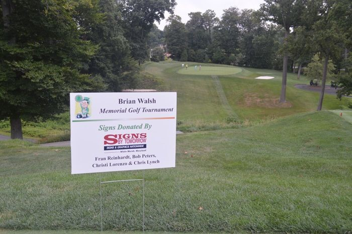 Golf Tee Signs in Towson, MD