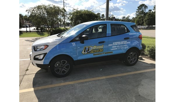 National Networks Full Vehicle Wrap