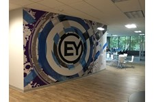 Environmental Wall Graphics for EYStudios in Kennesaw, GA