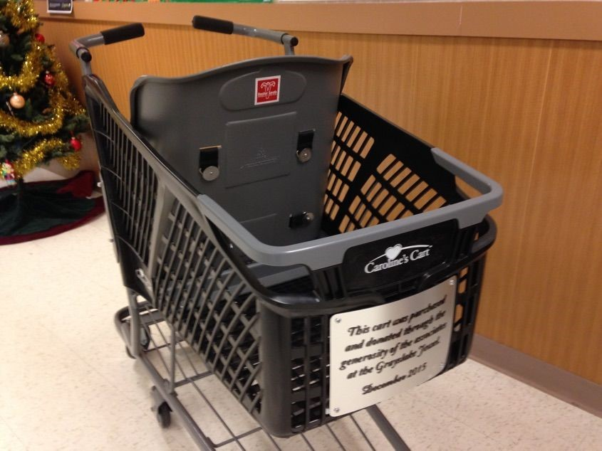 Special Needs Grocery Cart