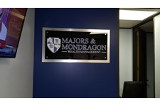 Acrylic Reception Signage for Financial Services Firm in Houston