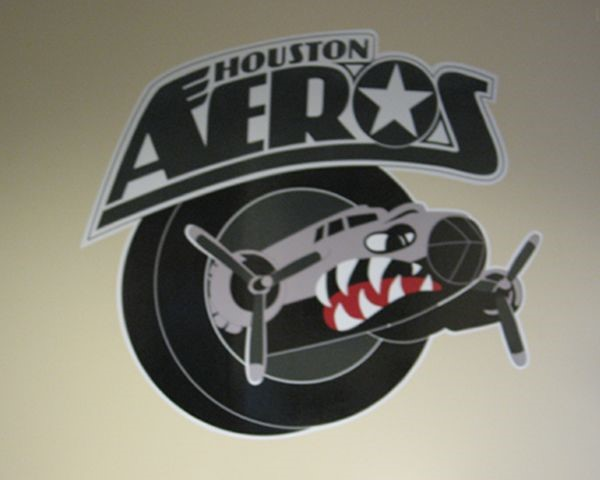Houston area Sports Team Wall Decal