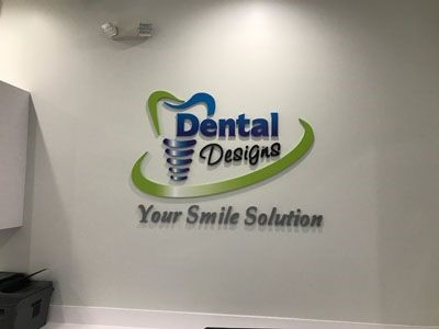 Acrylic Logo for Dental Designs