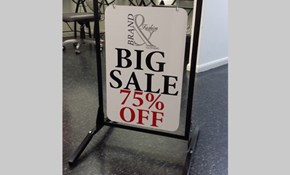A-Frames, Easel Signs & Sandwich Boards