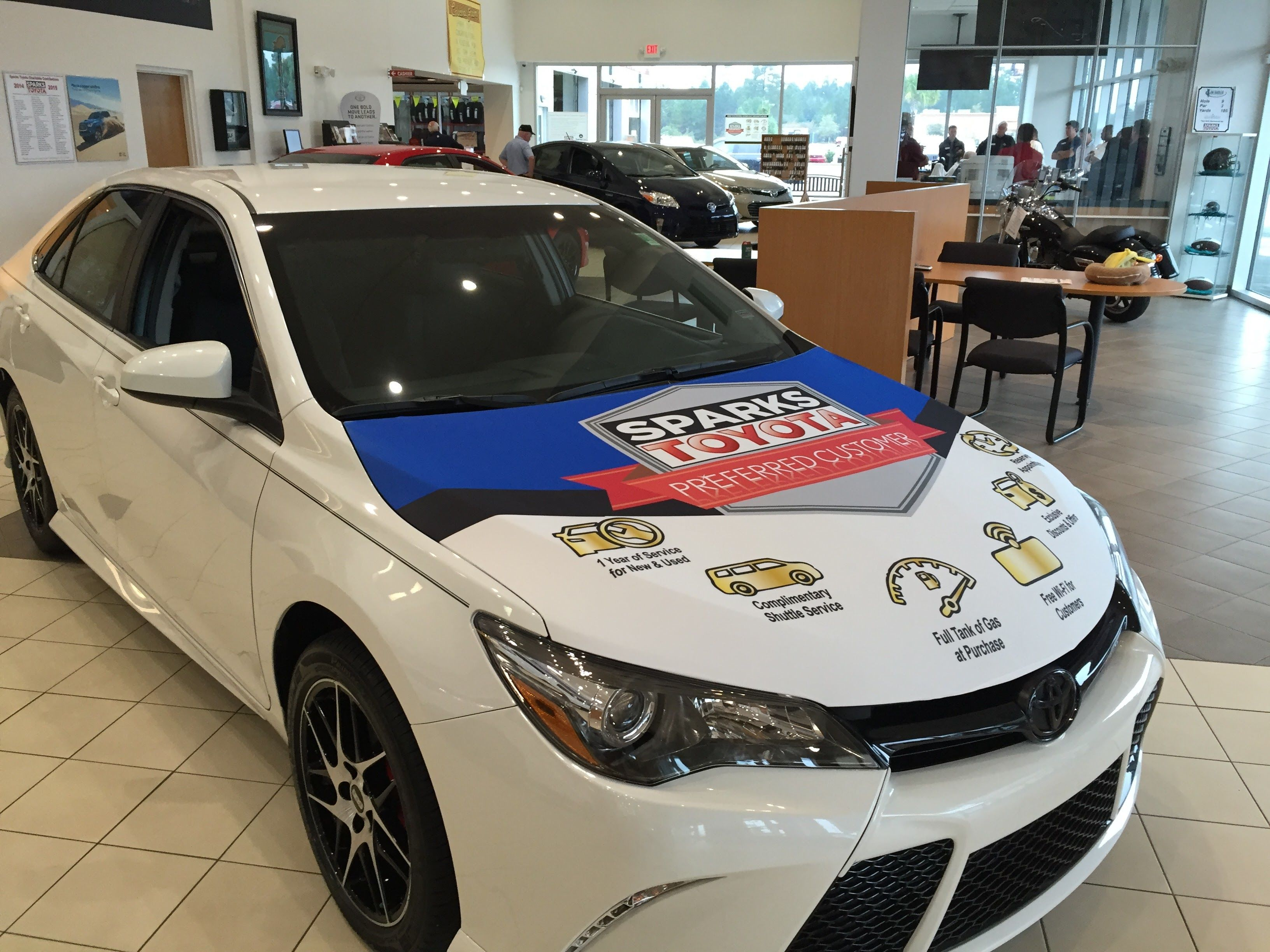 Sparks Toyota Service >> Auto Dealerships Services For Houston Area Businesses Spring The