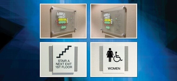 Regulatory and ADA Compliant Signs