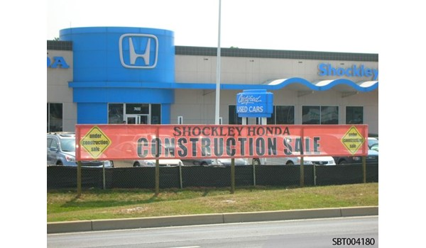 Car Dealership Outdoor Mesh Fabric Banner