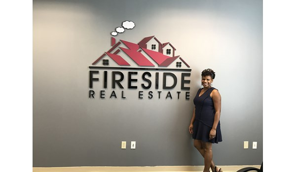 Fireside Real Estate 3D Signs & Dimensional Letters