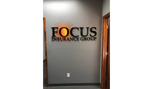 Focus Insurance Group 3D Signs & Dimensional Letters