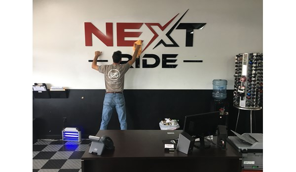 NEXT Ride Motorcycles 3D Signs & Dimensional Letters