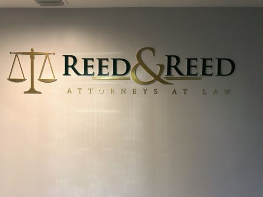 Reed and Reed Dimensional Lettering