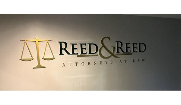 Reed & Reed Entry Lobby 3D Signs & Dimensional Letters