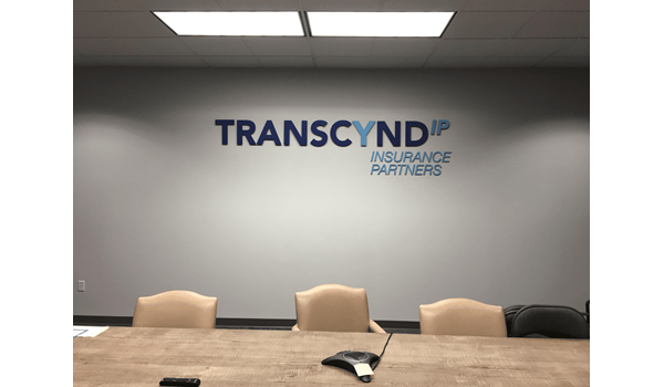 Transcynd Conference Room 3D Signs & Dimensional Letters