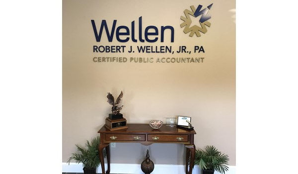 Wellen CPA 3D Signs & Dimensional Letters