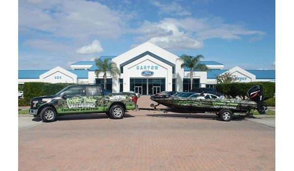 Trophy Taker Outdoors Truck and Boat Wrap