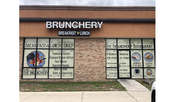 The Brunchery Window Decals, Signage & Graphics